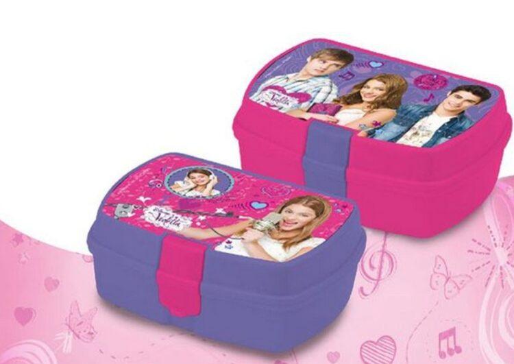 Box Portamerenda Violetta Disney