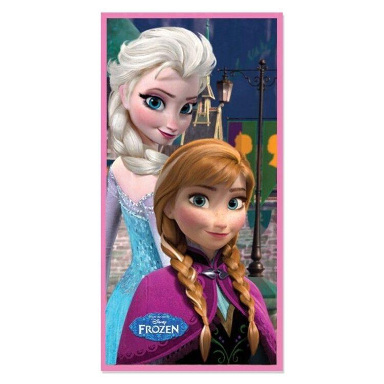 """Asciugamano telo mare Disney Frozen """"Freeze"""""""