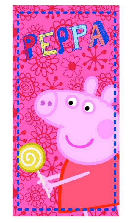Asciugamano Telo Mare Peppa Pig Bonbon
