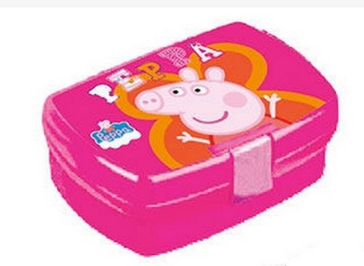 Lunch Box Peppa Pig Fiore