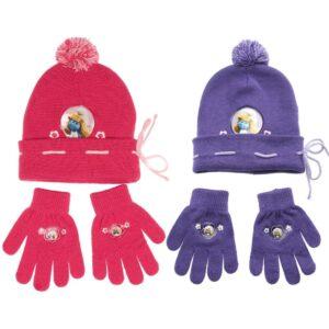 Set cappellino e guanti Puffetta