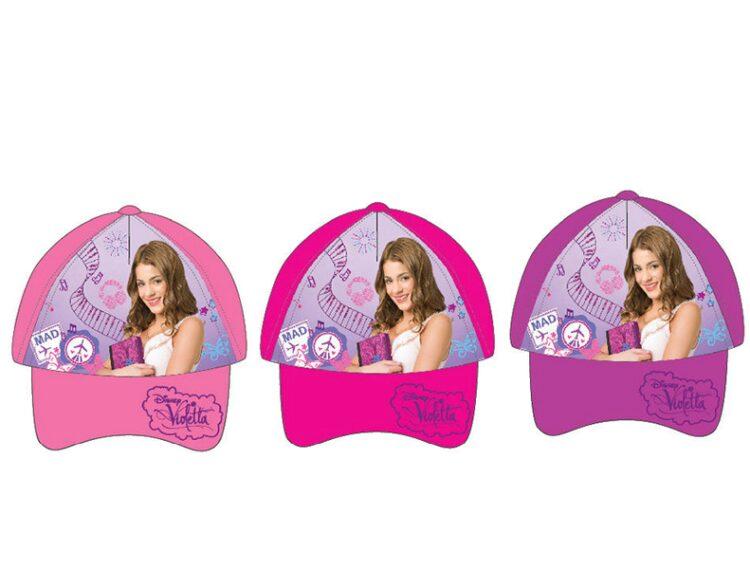 Cappellino con visiera Violetta Disney
