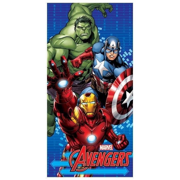 Asciugamano telo mare Marvel Avengers in microfibra