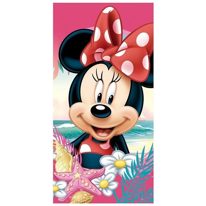 Asciugamano telo mare Disney Minnie in microfibra