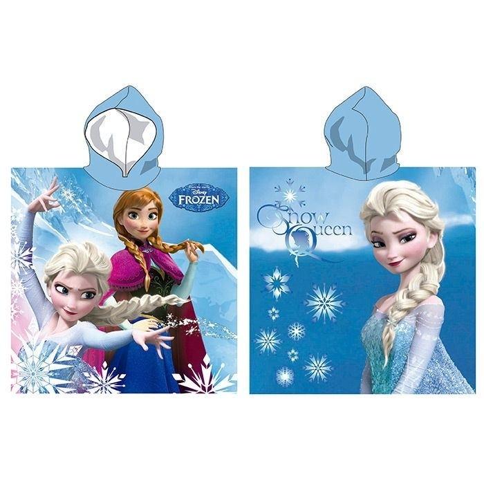 Accappatoio poncho Disney Frozen in microfibra
