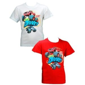 T-shirt bambino Blaze e le mega macchine.