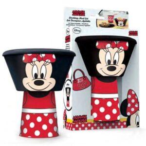 Set colazione impilabile Disney Minnie