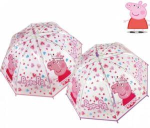 Ombrello trasparente Peppa Pig