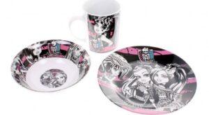 Set tavola 3 pezzi Monster High