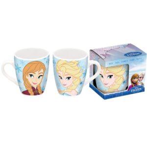 Tazza cacao in ceramica Disney Frozen Elsa e Anna