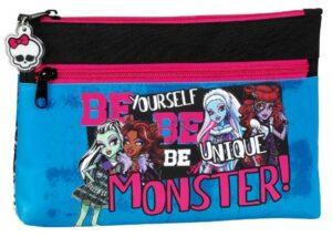 Astuccio portatutto doppia zip Monster High