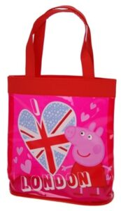Borsetta trasparente Peppa Pig London