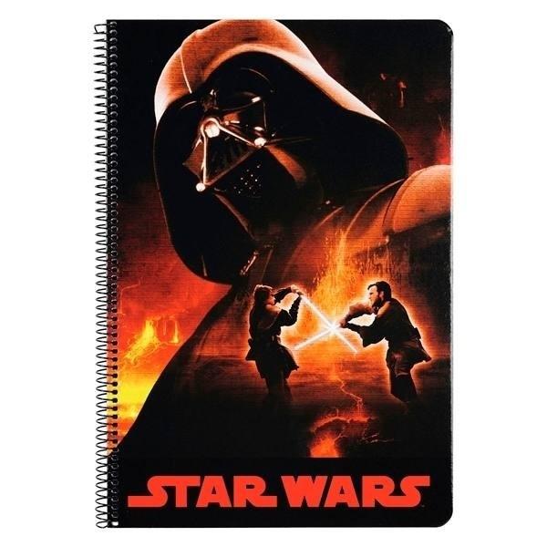 Quadernone con spirale Star Wars Darth Vader