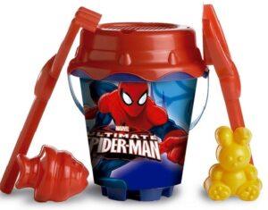 Secchiello mare Spiderman con accessori
