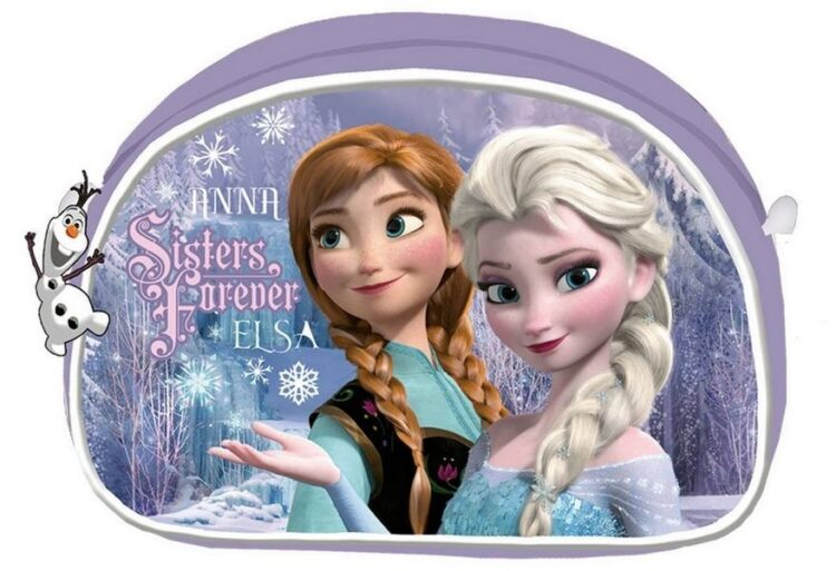 Astuccio beauty case Sisters Forever Disney Frozen