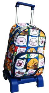 Zaino Trolley elementari Adventure Time Puzzle
