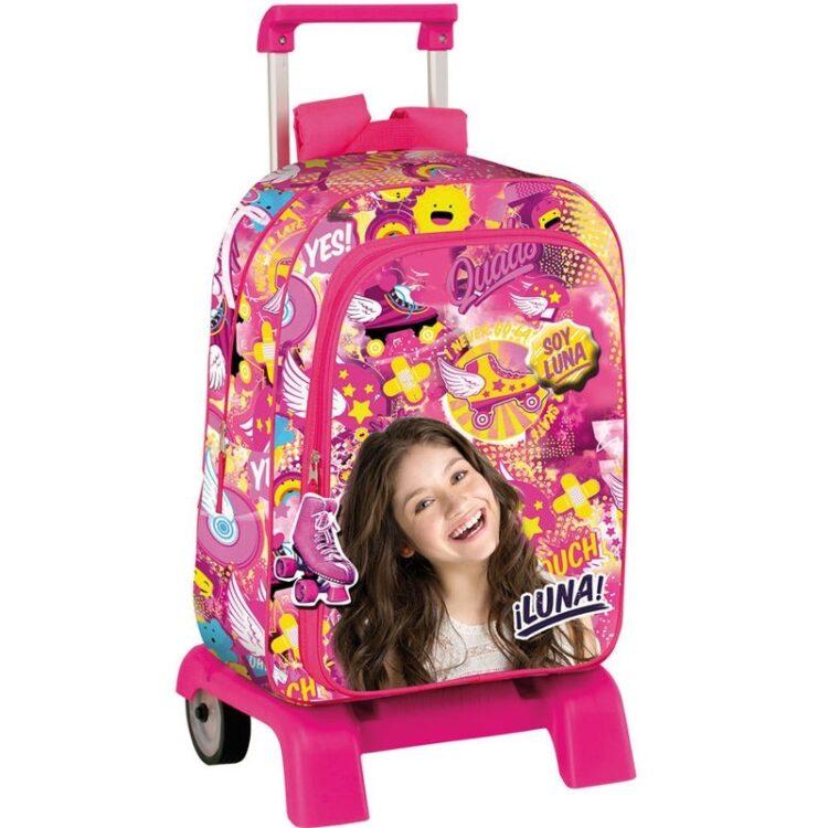Soy Luna - Zaino Trolley convertibile scuola elementare