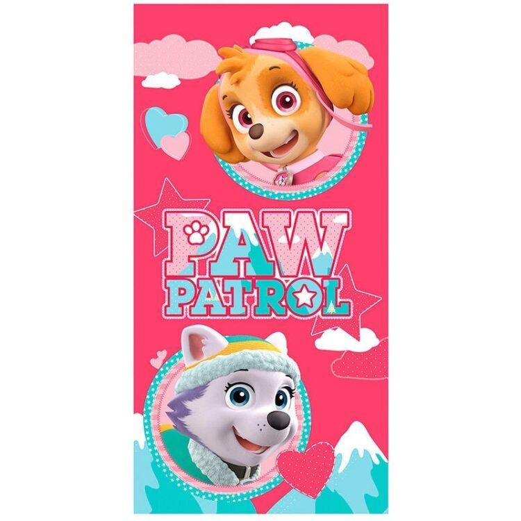 Paw Patrol - Asciugamano telo mare per bambine in microfibra Skye & Everest