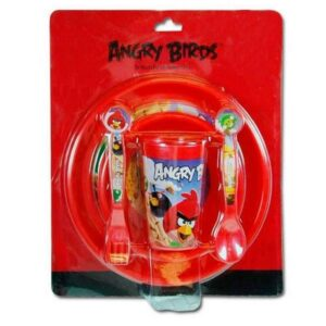 Set tavola 3 pezzi Angry Birds