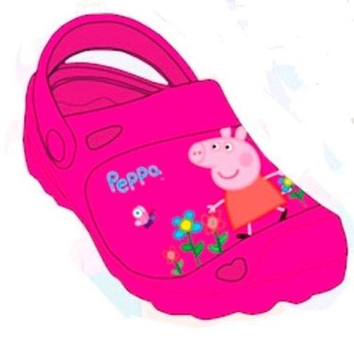 Clogs Peppa Pig fucsia