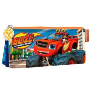 Astuccio portatutto 3 scomparti Blaze e le Mega Macchine