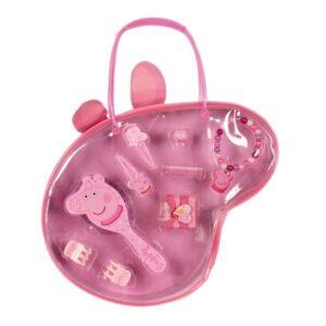 Borsetta con accessori capelli Peppa Pig