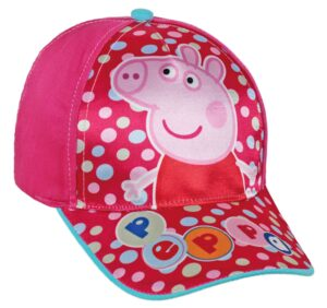 Cappellino con visiera Peppa Pig Sun