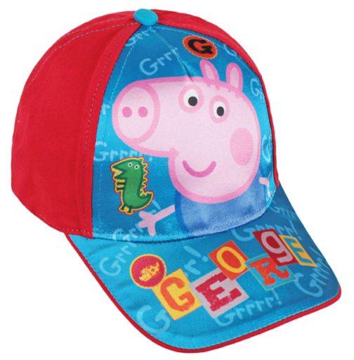 Cappellino con visiera Peppa Pig George