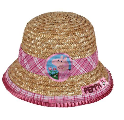 Cappellino in paglia Peppa Pig