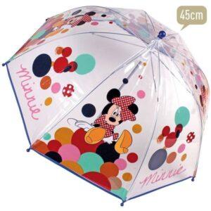 Ombrello trasparente Minnie Bubble