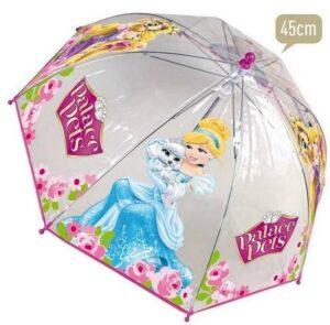 Ombrello trasparente Principesse Disney Palace Pets