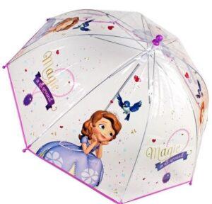 Ombrello trasparente Sofia la Principessa