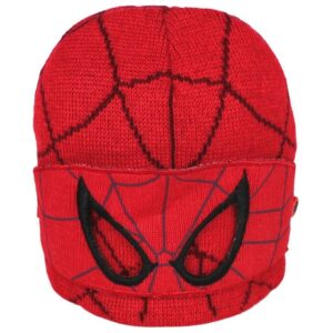 Berretto in maglia Spiderman con benda