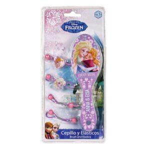 Set spazzola ed elastici Disney Frozen