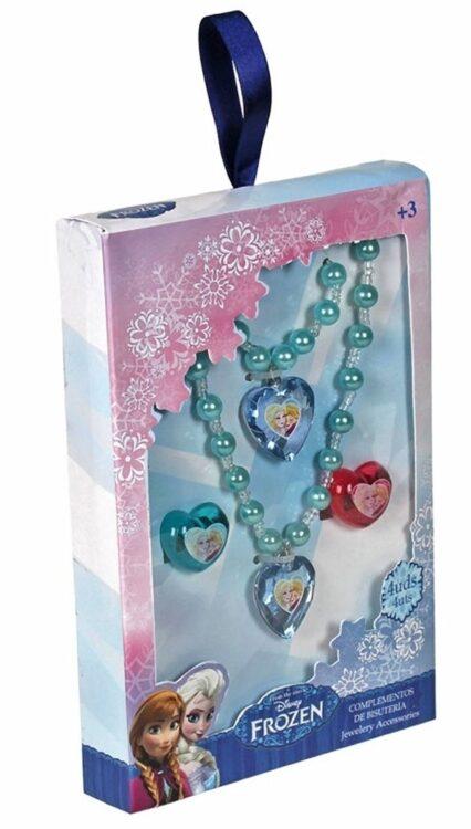 Confezione bigiotteria Disney Frozen