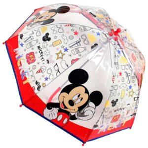 Ombrello trasparente Disney Mickey