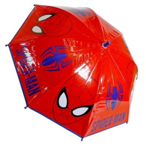 Ombrello rosso Spiderman