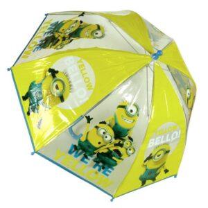 Ombrello trasparente Minions