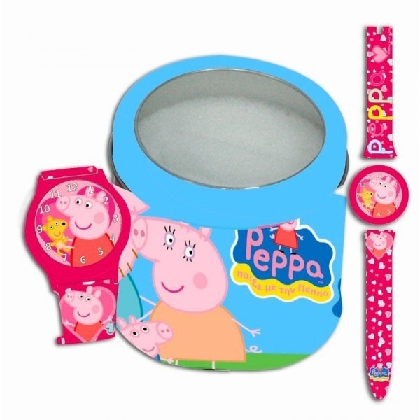 Orologio analogico Peppa Pig