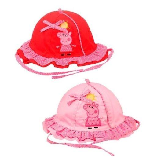 Cappellino baby Peppa Pig con falda