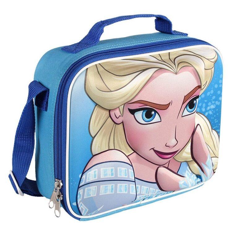 Frozen - Portamerenda Termico Elsa 3D per bambina