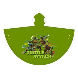 Mantellina impermeabile Tartarughe Ninja Attack