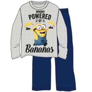 "Pigiama felpato Minions ""Powered by Bananas"""