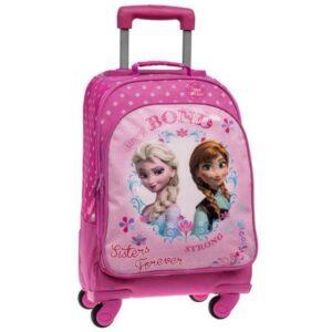 Zaino Trolley elementari Disney Frozen Sisters Forever convertibile