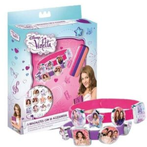 Crea il tuo braccialetto Violetta 21pz