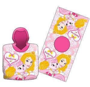Accappatoio poncho Principesse Disney My Royal Pet