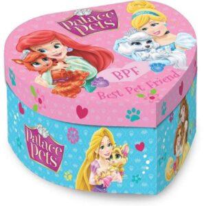 Portagioie Cuore Carillon Principesse Disney Palace Pets