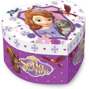Portagioie Cuore Carillon Sofia la Principessa