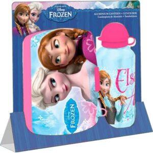 Set box portamerenda e borraccia Disney Frozen