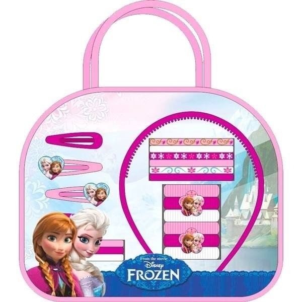 Borsetta con accessori capelli Disney Frozen
